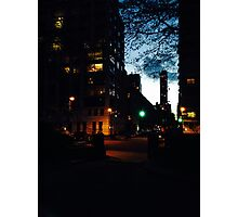 Green Light Photographic Print