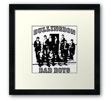Bullingdon Bad Boys Framed Print