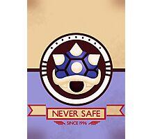 Never Safe - Mario Kart Print Photographic Print