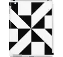 Monochrome Pattern iPad Case/Skin