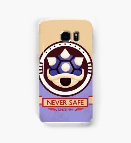 Never Safe - Mario Kart Print Samsung Galaxy Case/Skin