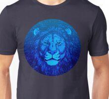 Blue Lion Bubble portrait by Cheerful Madness!! Unisex T-Shirt