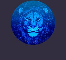 Blue Lion Bubble portrait by Cheerful Madness!! Unisex T-Shirt