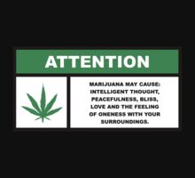 Marijuana May Cause Intelligent Thought, Peace, Bliss, Love by fearandclothing
