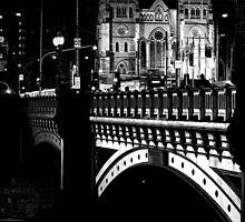 Princes Bridge, Melbourne by Chilidog
