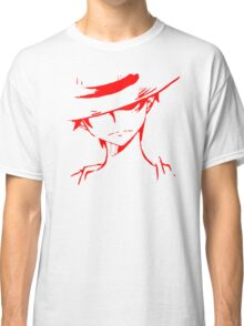 Monkey D Luffy Soft Art Classic T-Shirt
