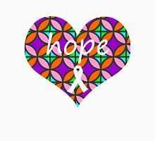 Hope Heart Stained Glass Unisex T-Shirt