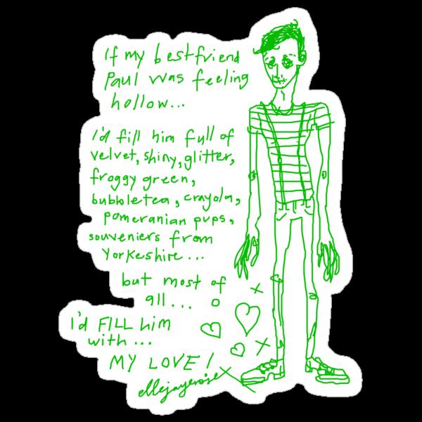 Filling Hollow Paul by ellejayerose