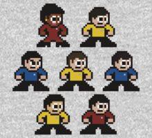 8-bit Star Trek: The Original Series Kids Clothes