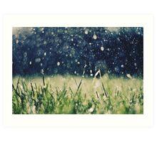This is Summer Rain Art Print