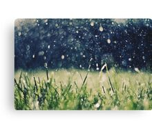 This is Summer Rain Canvas Print