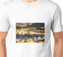 THE BIRDS AT NIGHT Unisex T-Shirt