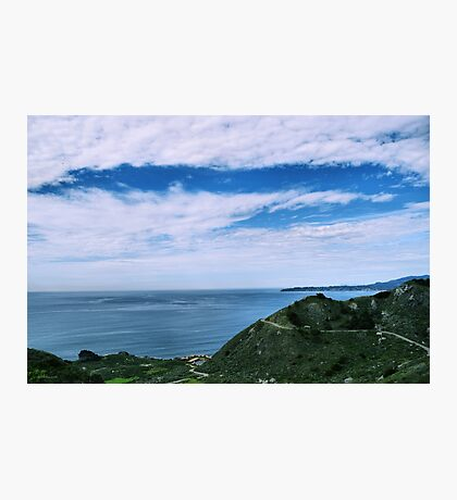 A Beautiful Day On The Coast Photographic Print