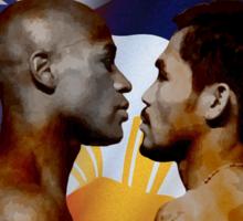 Mayweather vs Pacquiao Sticker