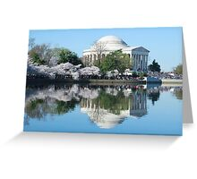 DC Cherry Blossom 2015 Greeting Card