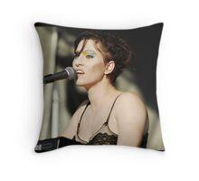 Amanda Palmer Throw Pillow