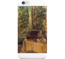 PAINTING OUTDOORS iPhone Case/Skin
