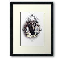 Kuroshitsuji (Black Butler) - Ciel Phantomhive & Sebastian Michaelis 4 Framed Print