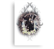 Kuroshitsuji (Black Butler) - Ciel Phantomhive & Sebastian Michaelis 4 Canvas Print