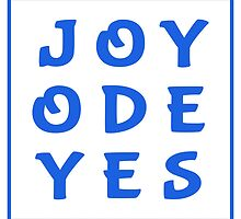 Joy Ode Yes – Blue by alannarwhitney