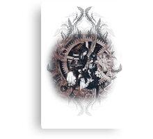 Kuroshitsuji (Black Butler) - Ciel Phantomhive & Sebastian Michaelis 5 Canvas Print
