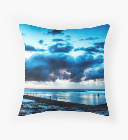 Shelley Pools Throw Pillow