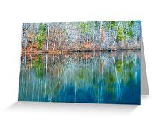 Reflections on  Pinnacle Lake Greeting Card