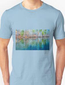 Reflections on  Pinnacle Lake Unisex T-Shirt