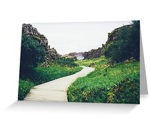 Pier in the Marsh Greeting Card