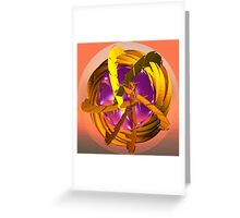 Discovery in space Greeting Card