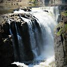 The Great Falls in the Spring, April 2015 - view 4 by Jane Neill-Hancock