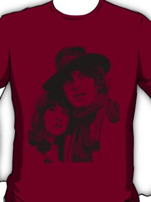 4th Doctor and Sarah-Jane T-Shirt