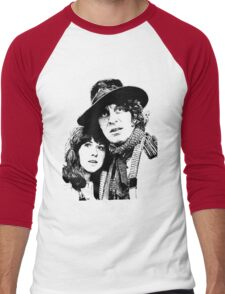 4th Doctor and Sarah-Jane Men's Baseball ¾ T-Shirt