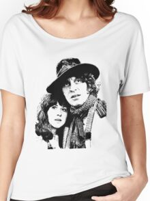 4th Doctor and Sarah-Jane Women's Relaxed Fit T-Shirt