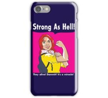 Strong as Hell iPhone Case/Skin