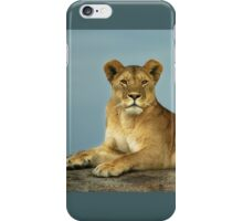 The Queen of Beasts iPhone Case/Skin