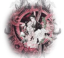 Kuroshitsuji (Black Butler) - Ciel Phantomhive & Sebastian Michaelis 7 by IzayaUke