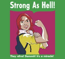 Strong as Hell Kids Clothes