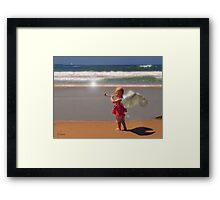 Angel Of The Shore series 10 Framed Print