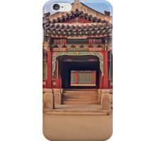 Changdeokgung Palace iPhone Case/Skin