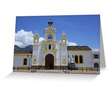 Quiroga Catholic Church Greeting Card