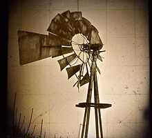 Windmill (closeup) by Aaron Campbell