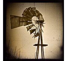 Windmill (closeup) Photographic Print