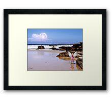 Angel Of The Shore series 2 Framed Print