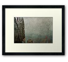 Scenic Overlook Ahead Framed Print
