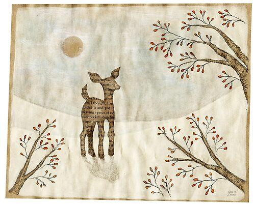 Snow Bambi by naokosstoop