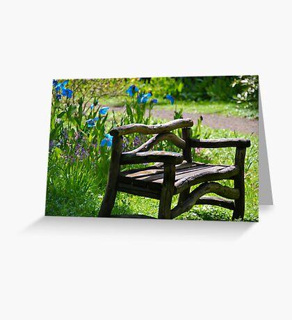 take a seat  Greeting Card
