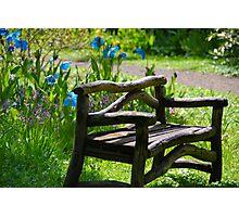 take a seat  Photographic Print
