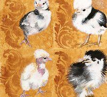 Baby chickens!   by damasktattoo