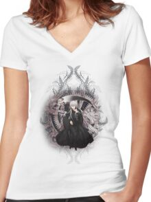 Kuroshitsuji (Black Butler) - Undertaker² Women's Fitted V-Neck T-Shirt